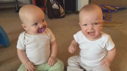 搞笑宝宝:小宝宝之间的趣事!