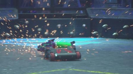 铁甲雄心2战队赛:黑兔vs废铁