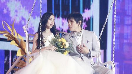 八卦:郭碧婷与向佐同框亮相 场面浪漫似婚礼彩排