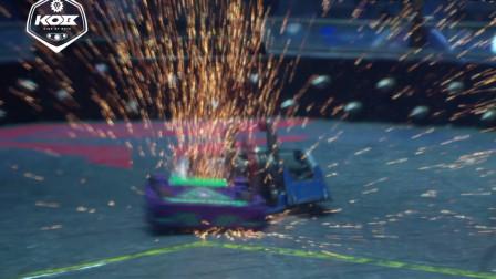 铁甲雄心2战队赛:雷霆、深海巨鲨vs废铁、推土车