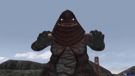 奥特曼格斗进化:这个哥尔攒怪兽跳的真欢快!