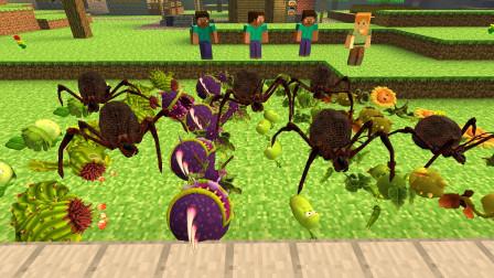 GMOD游戏史蒂夫的植物怎么会有这么多虫子呢?
