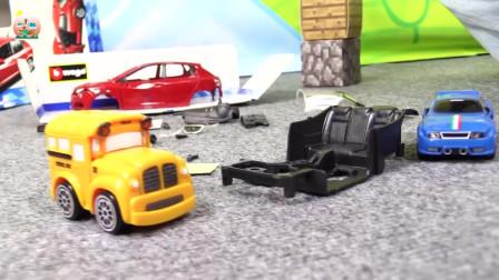 汽车玩具,奔驰小汽车和跑道玩具