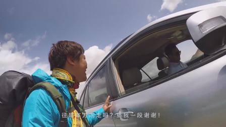 新疆第一次搭车成功,司机是位四川小伙,做家族生意