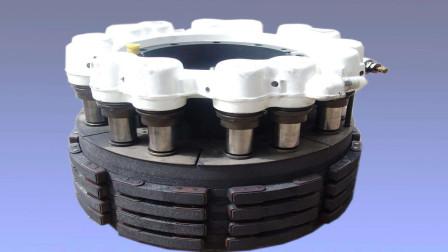 飞机多久换一次刹车盘,刹车盘是什么材料做成的?今天算长见识了