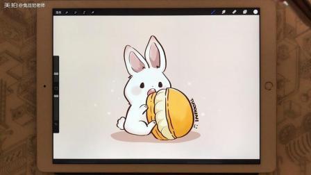 夏天就要甜甜的呀 兔豆尼老师请你吃马卡龙啦