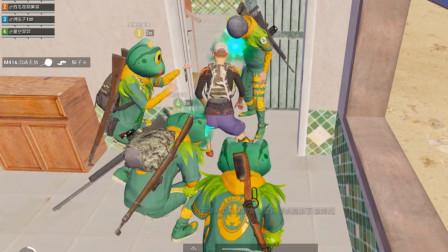和平精英:刺激战场 四只小青蛙跳跳舞迷惑敌人 太逗了!