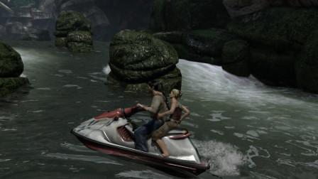 神秘海域大合集第12期 开摩托车游艇开到吐 难受!