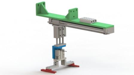 SolidWorks 视频教程-第一百零五课:双轴气动机械手的作用、适用场合、结构设计要点及气动回路设计