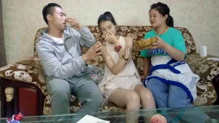 妻子怀孕后,丈母娘天天让她吃韭菜,孩子出生后我感谢丈母娘