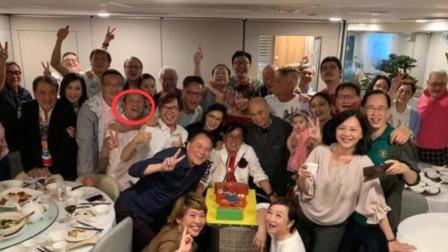 谭咏麟69岁生日宴请朋友 曾志伟等人悉数出席送个性蛋糕