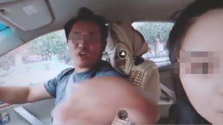 广西一女游客曝光黑车 拍视频时被司机扇耳光