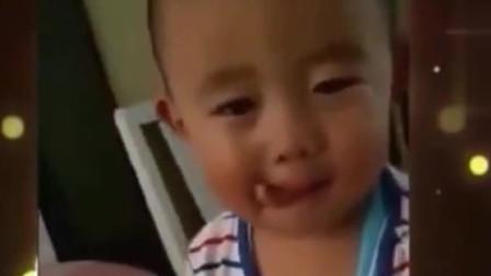 家庭幽默录像:宝宝收放自如的哭戏,奥斯卡欠他一座小金人!