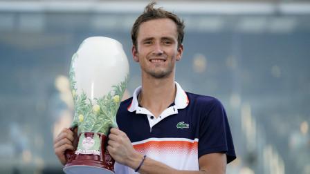 ATP辛辛那提大师赛  梅德韦杰夫夺冠