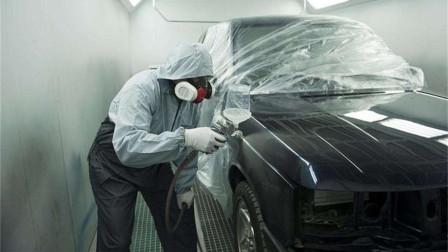 为何近几年给车补漆的人少了很多?4S店和汽修厂给出了同样的答案
