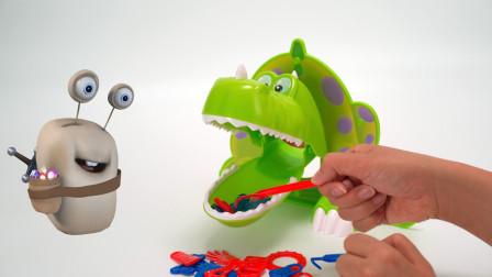 好饿的恐龙 亲子互动游戏玩具