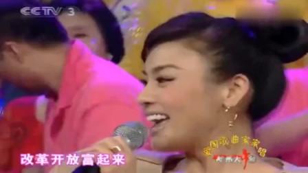 陈思思演唱《走进新时代》,不同于张也的演唱方式,越听越好听!