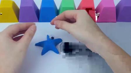 如何用彩虹沙制作海星