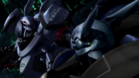 苹果核战记:敌军内部藏着铠甲机器人,子弹都伤不了它
