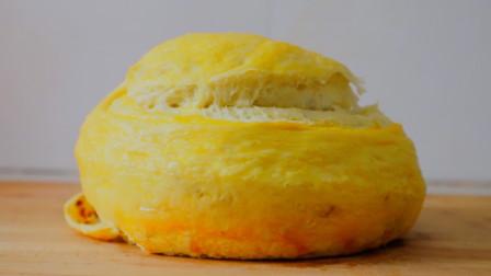 手撕面包新做法,不用烤箱不用电饭煲,香甜柔软层次多,太好吃了