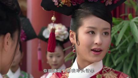 甄嬛传:安陵容就因打碎个茶杯,就被其他秀女骂,甄嬛小暴脾气顿时替出头