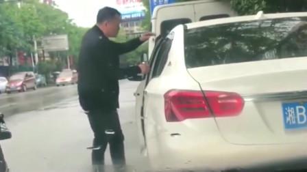 灵异事件:打不开车门,还得跳一下