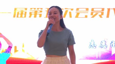 独唱《上海滩》表演者:曾红英