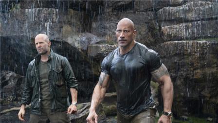 《速度与激情:特别行动》再现逆天操作,肌肉硬汉大秀反差萌,杰森斯·坦森打戏全靠替身?