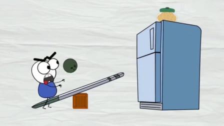 搞笑铅笔动画:阿呆为了偷吃饼干,用尽了办法,最后还是没能如愿!