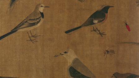 传世古画背后的 ——纪清远古画赏析30讲 《写生珍禽图》:父亲为儿子亲绘的临摹珍品