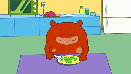 咕力咕力-豆豆的旅行  宝宝喜欢吃小豆子吗