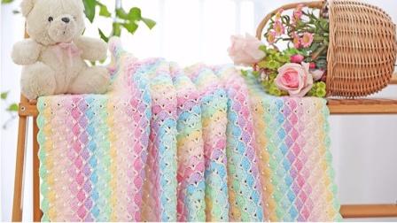 幻彩童年毯子钩针编织教程简单花样图解
