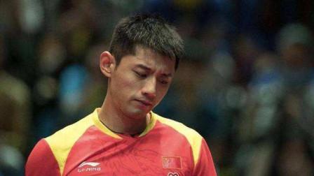 我国乒乓球名将张继科,世界排名跌至43名,他为何不肯退役?