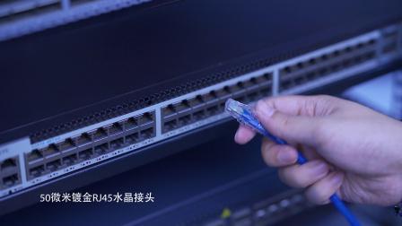 24AWG线径Cat6六类非屏蔽(UTP)网络跳线是什么?|飞速(FS)