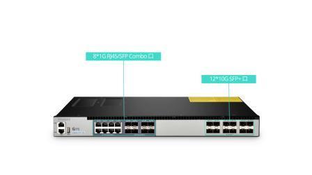 S5800-8TF12S万兆以太网交换机有什么特征?可应用在哪里?|飞速(FS)