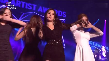 2018ASIAARTISTAWARDS 韩国GIDLE女团现场热舞表演HANN