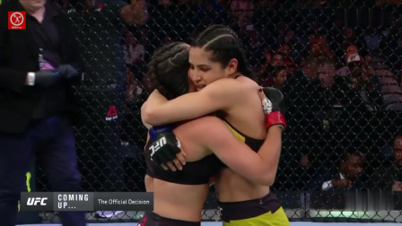 UFC女子经典战:马赛多 vs 维亚纳!女人狠起来有多可怕