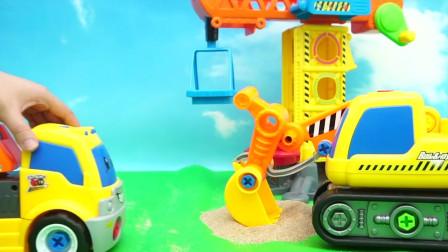 小小探索家的消防车玩具