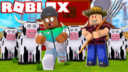 Roblox乐高小游戏 虚拟世界 农场模拟器!放暑假养小鸡种西瓜?咯咯多解说