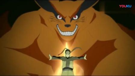 火影忍者:鸣人尾兽化竟然这一幕看哭了多少人,仿佛四代火影重现