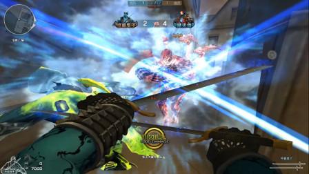 穿越火线:将游击玩家赶进角落任终结者宰割