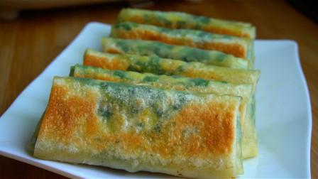 韭菜盒子新做法,不发面不烫面,皮酥脆馅鲜嫩,吃一次念念不忘