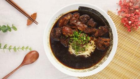 不可辜负的美味,弹牙爽口的台湾牛腩牛筋面!