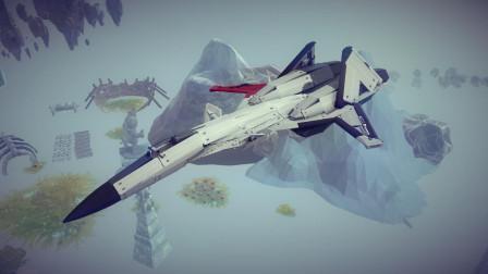 【唐狗蛋】besiege围攻 ADFX-01 -Pixy-战斗机