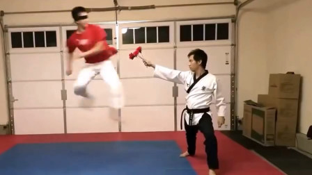跆拳道失误集锦,一脚踢到队友脸上,这个能实战吗?