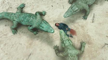 详细解读《巨鳄》人类大战40米变异巨鳄,特效不止五毛这么简单!