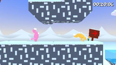 超级兔子人 冰雪岛第一关险过关
