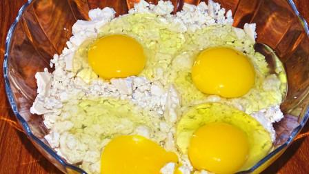 豆腐加鸡蛋最好的搭配,好吃好看又营养,做法还特别简单