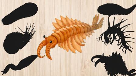 认识皮卡虫等比恐龙更早期的史前动物,乐宝识动物