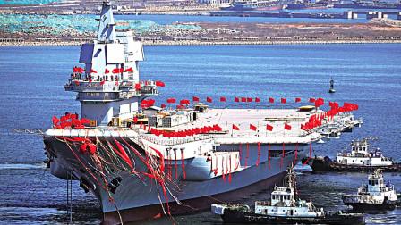 引起关注!中国宣传海报出现未见过的航母,估计排水量达85000吨